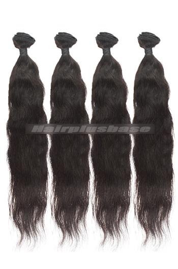 10-30 Inch 7A Virgin Hair Natural Straight Hair Extension 4 Bundles Deal