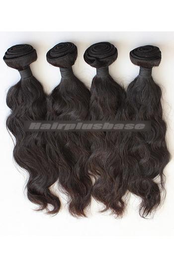 10-30 Inch Peruvian Virgin Hair Natural Wave Hair Extension 4 Bundles Deal