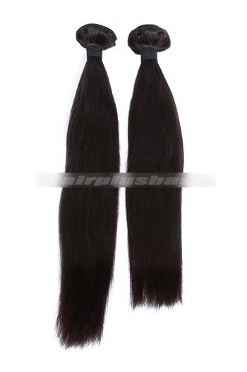 10-30 Inch Silky Straight Peruvian Virgin Hair Weave 2 Bundles Deal