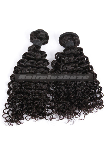 10-30 Inch Water Wave Natural Color Peruvian Virgin Hair Weave 2 Bundles Hair Deal