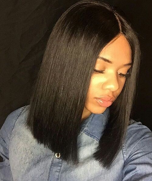 Pre Plucked 360 Lace Wigs Yaki Straight Blunt Bob Cut Bob Wig, 150% Density, Brazilian Virgin Hair Short Bob Wig