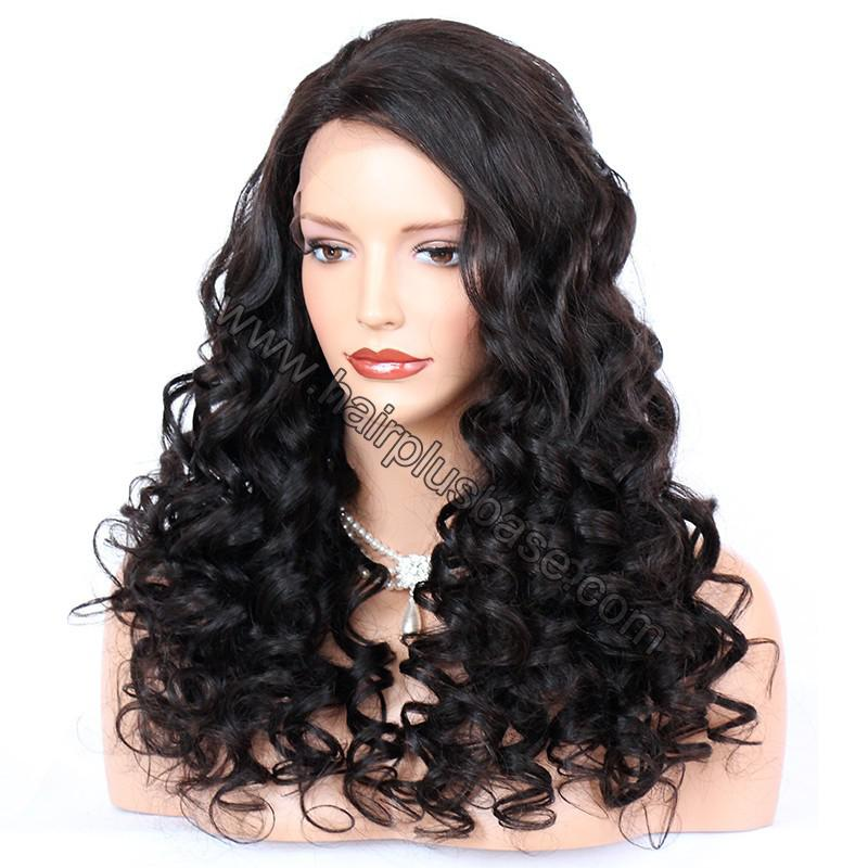 Pre Plucked Natural Hairline 360 Lace Wigs Loose Wave,180% Density, Indian Remy Hair, 4.5inches Deep Part 2