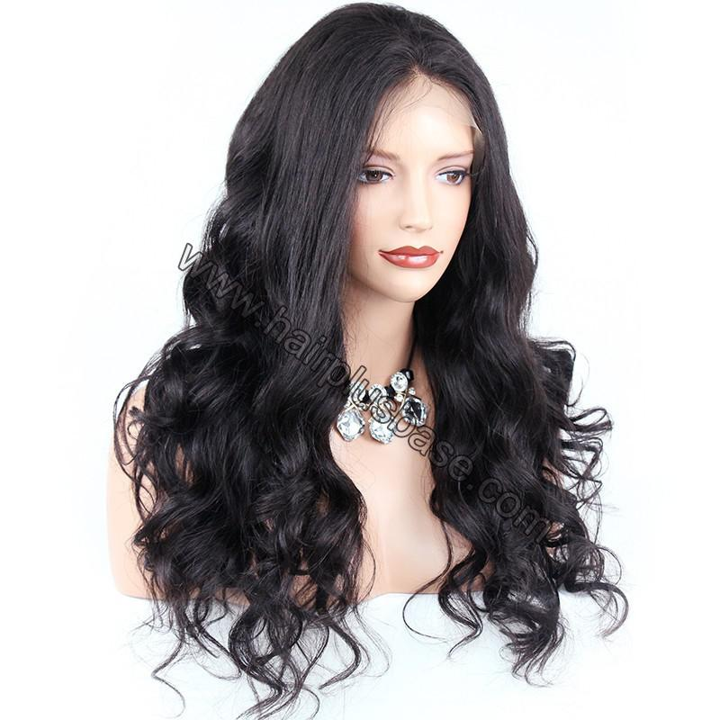 Pre Plucked Super Wavy 360 Lace Wigs 150% Density, Indian Remy Hair 1