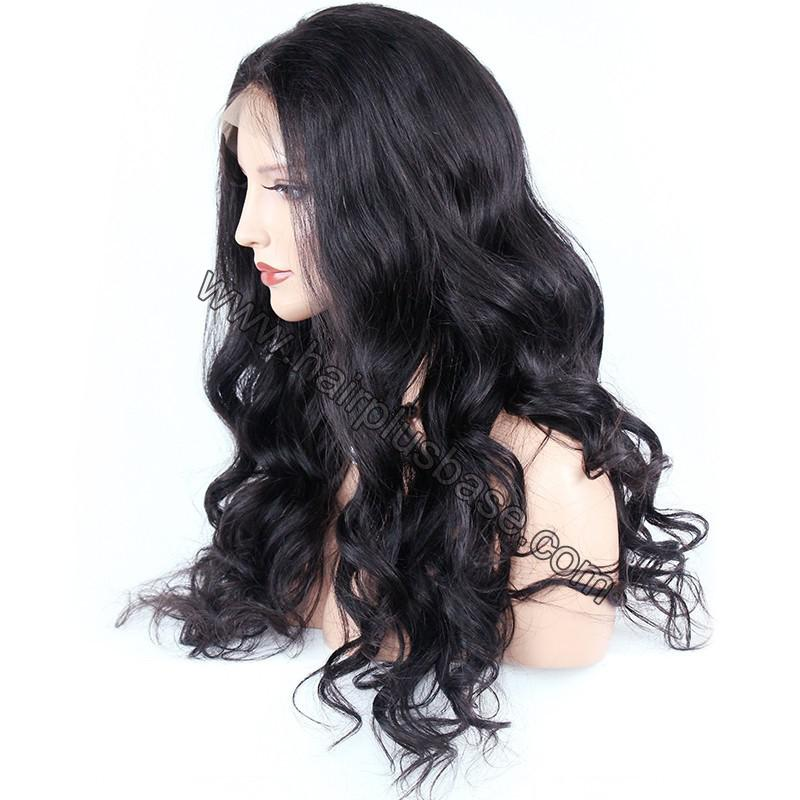 Pre Plucked Super Wavy 360 Lace Wigs 150% Density, Indian Remy Hair 4