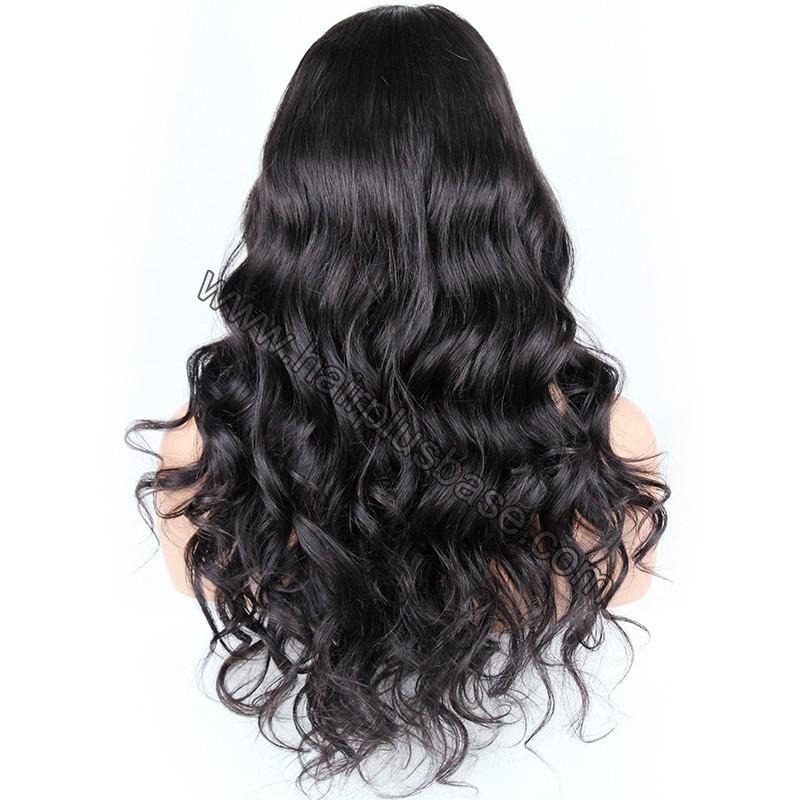 Pre Plucked Super Wavy 360 Lace Wigs 150% Density, Indian Remy Hair 5