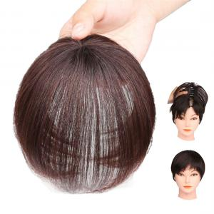 Real Human Hair Crown Toppers for Women with Bald Spot, Clip in Top Hairpieces Toupee for Women