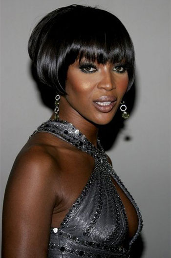 Short Human Hair Wigs With Bangs Glueless Wigs For Black Women