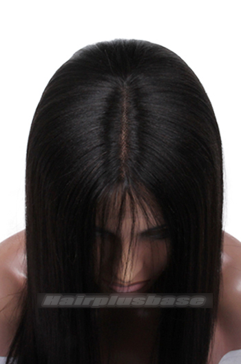 natural looking parting show