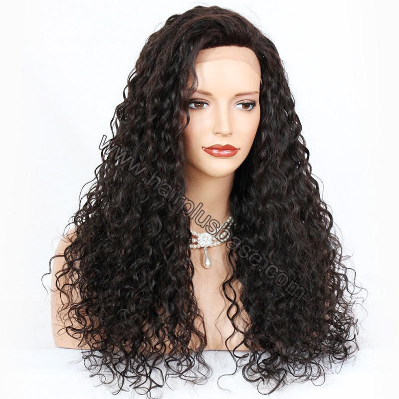 Silk Top 4*4 Full Lace Wigs Indian Human Hair Curly 2