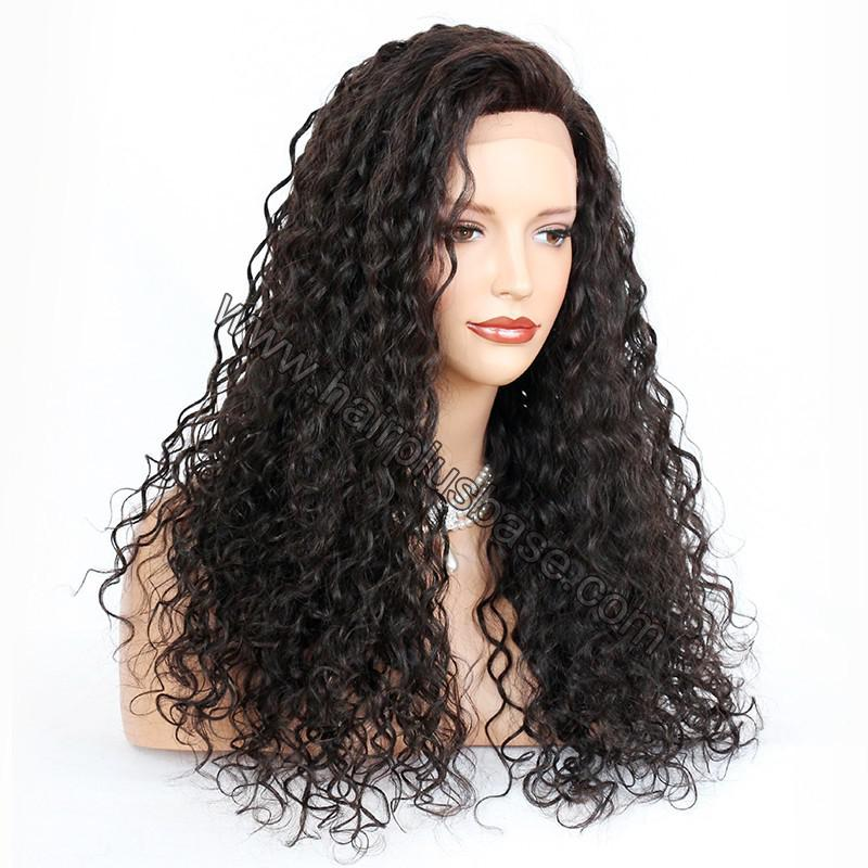 Silk Top 4*4 Full Lace Wigs Indian Human Hair Curly 3