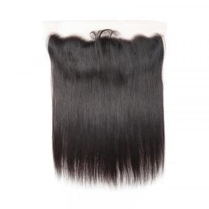 Straight Hair 4 Bundles With 13*4 Lace Frontal Virgin Hair Human Hair