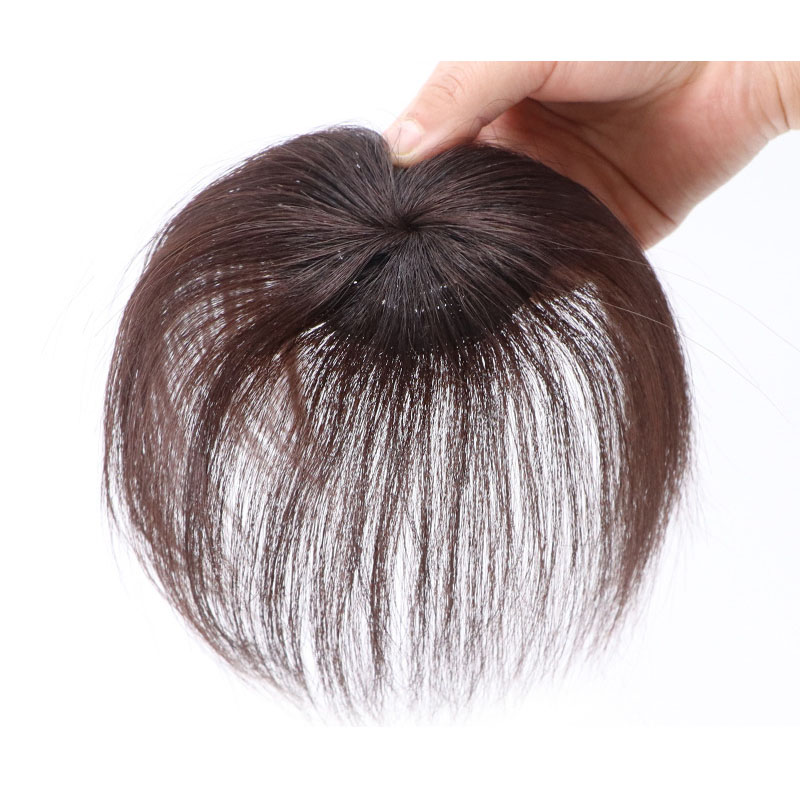 The Head Piece Of Whole Human Hair Wigs Cover Hair Wig Replacement Without A Trace Of Men And Women 1