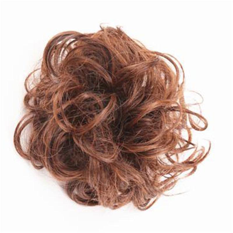 The Original Man Bun Instant Clip On Bun 100% Human Hair Extension 5