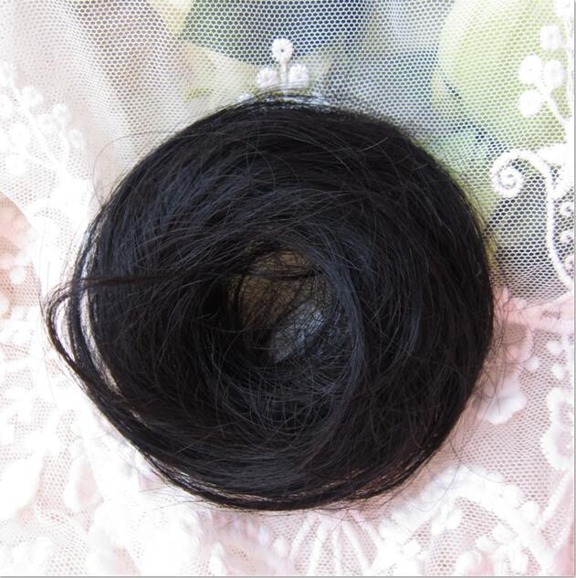 The Original Man Bun Instant Clip On Bun 100% Human Hair Extension 6