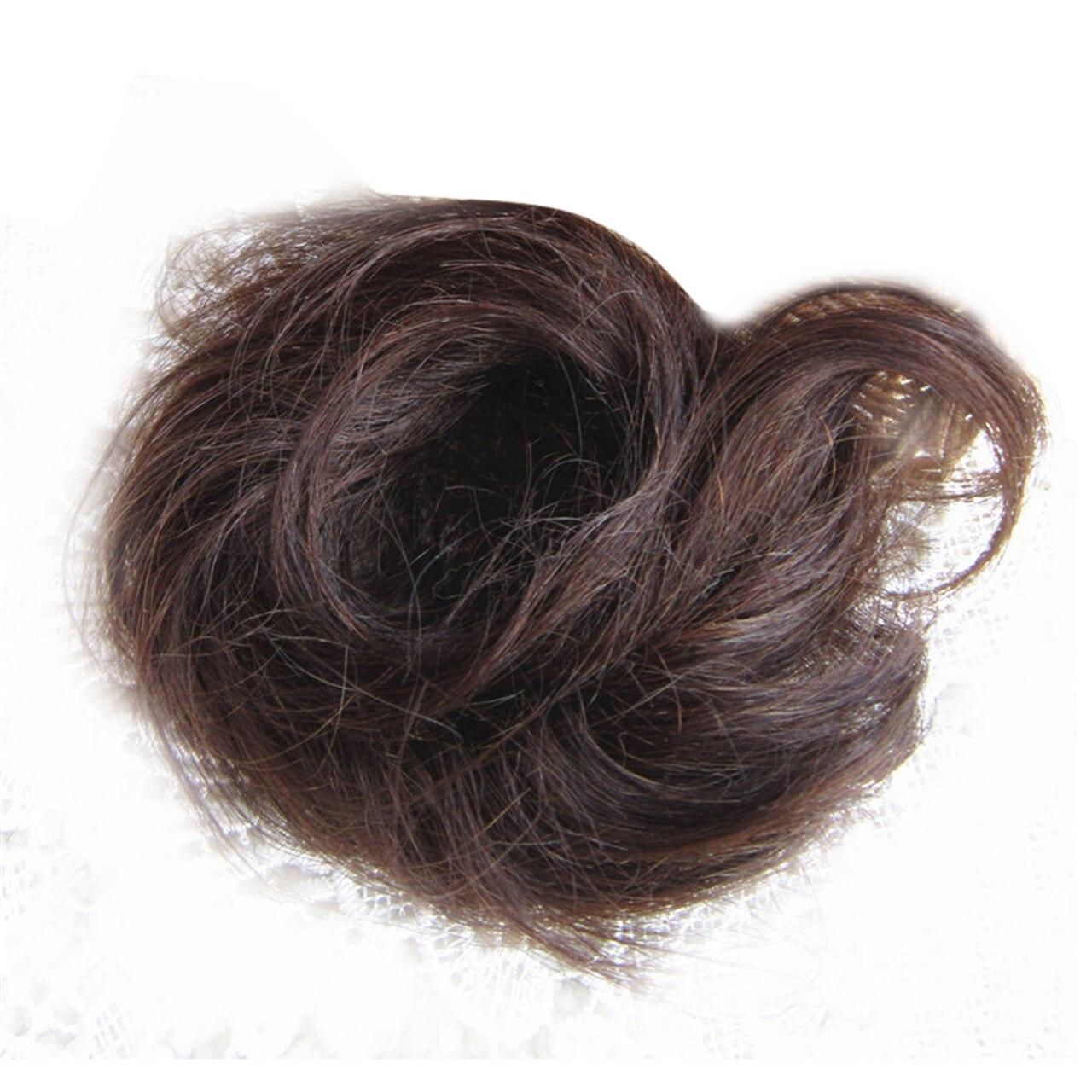 The Original Man Bun Instant Clip On Bun 100% Human Hair Extension 7