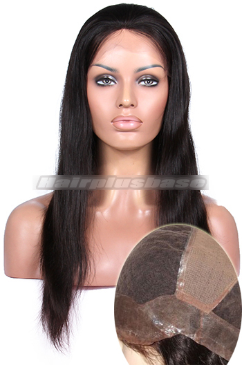 Silky Straight Thin Skin Perimeter Full Lace Human Hair Wigs {Custom Wig Production Time 30 working days}