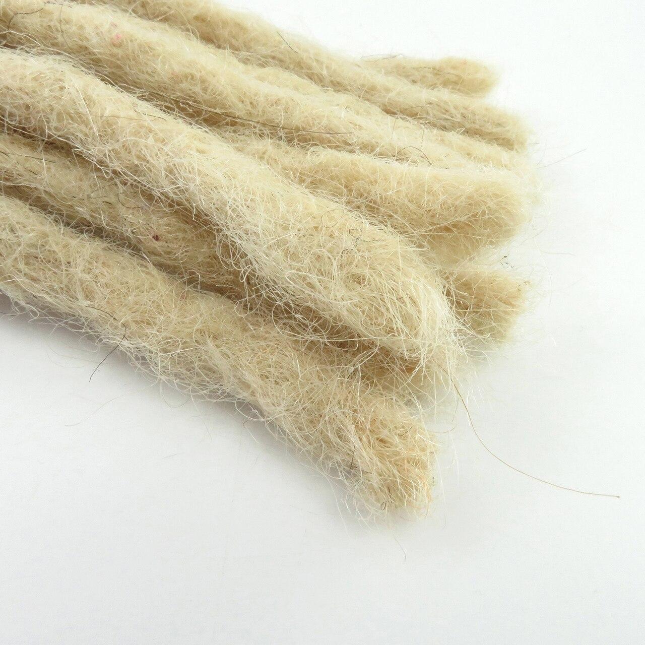 Tight Afro Kinky Bulk Hair 100% Human Hair Dreadlocks Twist Braid Hair Extension 11