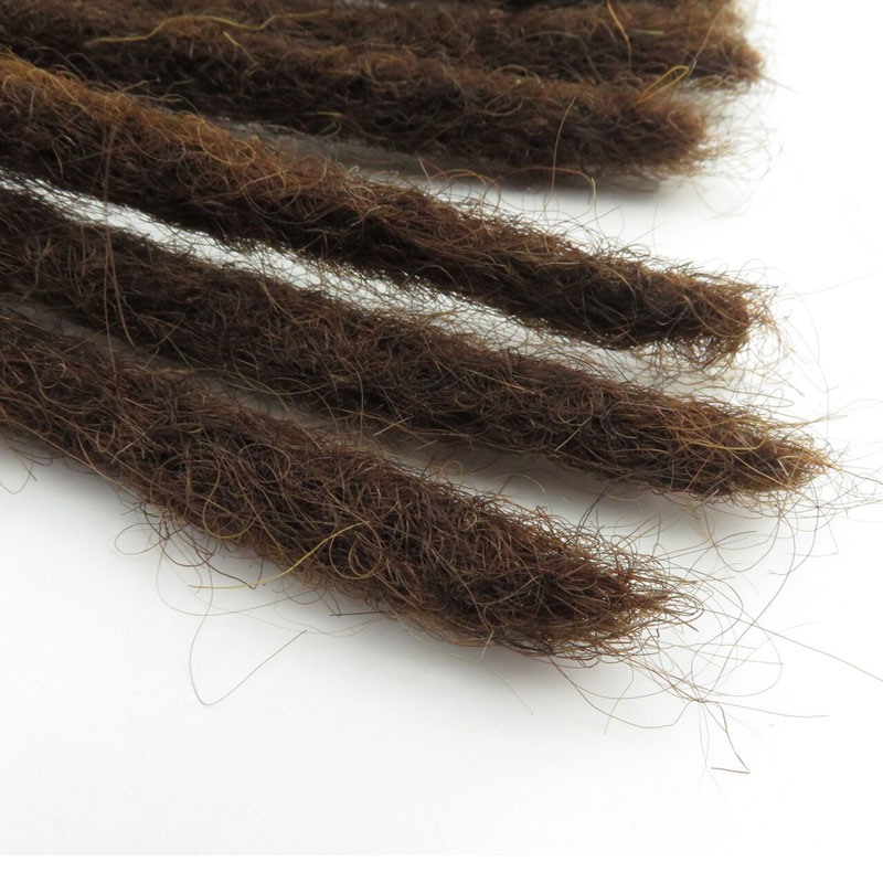 Tight Afro Kinky Bulk Hair 100% Human Hair Dreadlocks Twist Braid Hair Extension 7