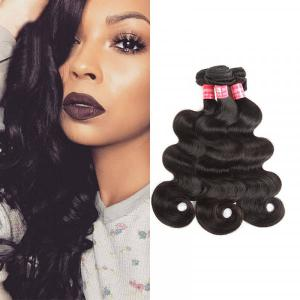 Virgin Brazilian Hair 3 Bundles Body Wave Weave Hairstyles