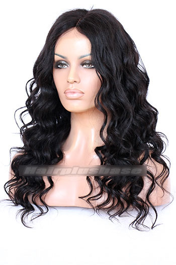 Indian Remy Hair 1B  Yaki Wavy 56f64c284c96